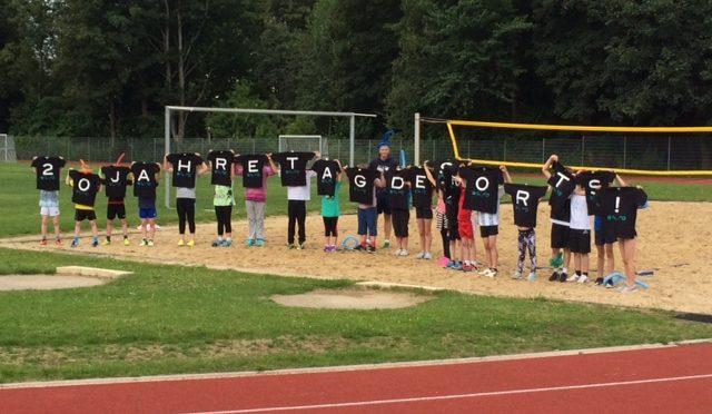 Viele Aktionen beim Sport und Spaßcamp